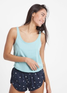 Tank Top - Green Canton - thinking mu