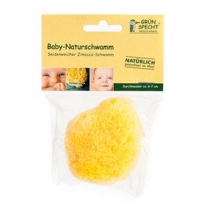 Naturschwamm Zimoccaschwamm gelb nachhaltig - GRÜNSPECHT Naturprodukte