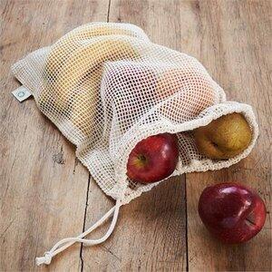 2er Pack Obst- und Gemüsenetz - Living Crafts