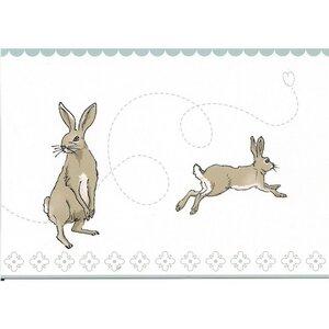 Postkarte Bunnys - Lupinus Salon