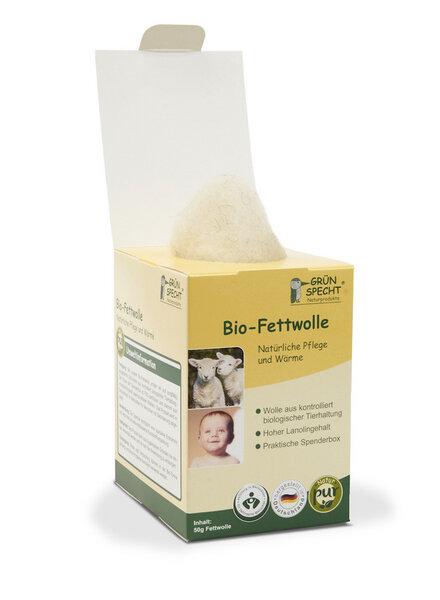 3816ef912290da GRÜNSPECHT Naturprodukte - Bio - Fettwolle Natürliche Pflege und Wärme  Nachhaltig GRÜNSPECHT
