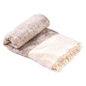 Decke Grau 100% natürliche Schurwolle - Nata Y Limón