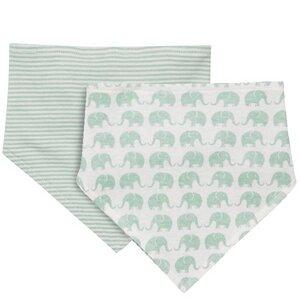 Wendelätzchen Elefanten Mint - Sense Organics & friends in cooperation with GARY MASH