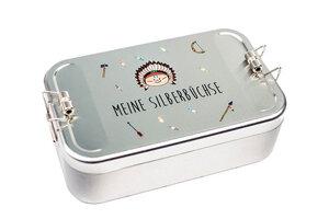 Lunchbox XL Meine Silberbüchse - tindobo