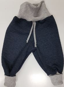 Stepphose wattiert jeans - Omilich