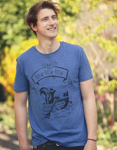 Sven Stinktier - Fair Wear T-Shirt - Heather Indigo - päfjes