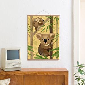 Set / Koala + Posterleiste Eiche 50 cm - Kleinwaren / von Laufenberg