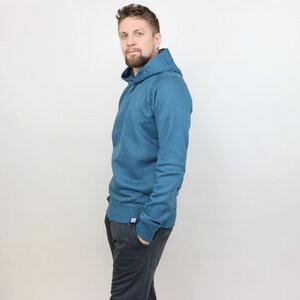 Kapuzensweater Basic Petrol - Gary Mash