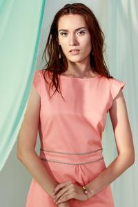 Kleid Rose aus Jacquardstoff - ME&MAY