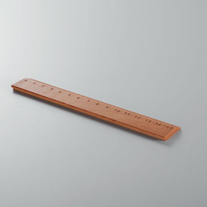 Lineal aus edlem Holz - 'Ruler' - 4betterdays
