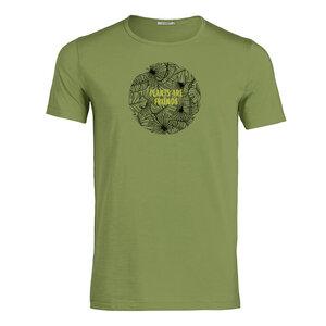 T-Shirt -Adores Slub - Lifestyle Plants are Friends - GreenBomb