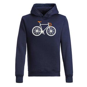 Hooded Sweater - Star - Bike Two - GreenBomb