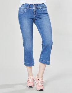 Gerlise Stretch-3/4-Jeans - blue-used - Deerberg