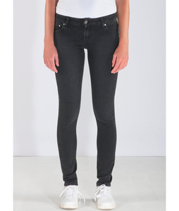 Skinny Lilly Stone Black - Mud Jeans