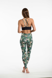 """Jungle"" Leggings - Flying Love Birds"