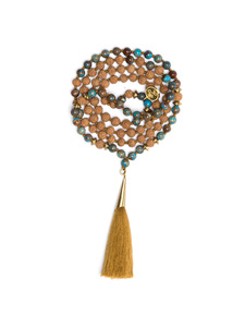 Blue Compassion Mala - MAHI YOGA