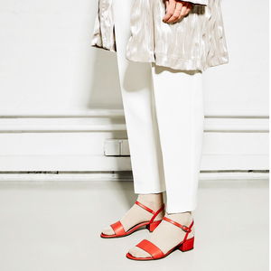 Strappy Sandal #sul lipstick - NINE TO FIVE