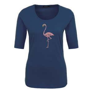 T-Shirt Deep Animal golden Flamingo - GreenBomb
