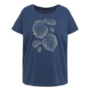 T-Shirt Modal Slight Plants Palm Leaves - GreenBomb