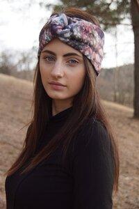 Stirnband im Turbanlook - Blossombomb - dreisechzig
