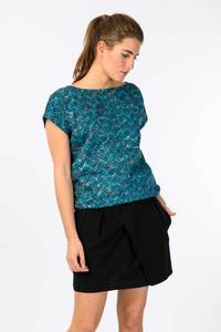 JORIE Shirt - Deep Green - skunkfunk