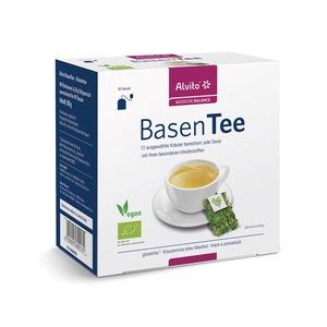 Alvito BasenTee 40 Teebeutel (80 g) Bio Kräutertee - Alvito