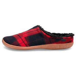 Red Plaid Berkeley Slipper - Toms