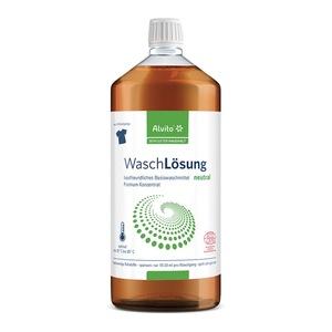 Alvito Waschlösung Neutral 1 Liter - Ökologisches Waschmittel - Alvito