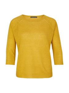 Boat Neck Sweater - Gelb - Les Racines Du Ciel