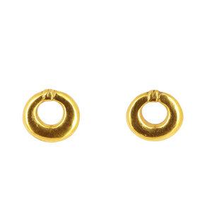 Ohrstecker MIAKODA, 950er Silber, vergoldet - GLOBO