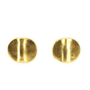 Ohrstecker MACAWI, 925er Silber, vergoldet - GLOBO