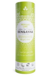 Soda Deodorant Push Up Carton persian lime - Ben&Anna
