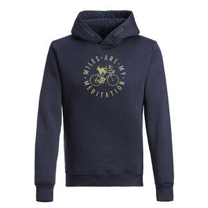 Hooded Sweater - Star - Bike Meditation - GreenBomb