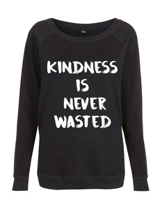 Kindness girly Sweat - WarglBlarg!