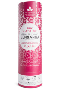 Soda Deodorant Push Up Carton pink grapefruit - Ben&Anna
