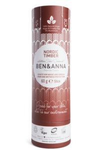 Soda Deodorant Push Up Carton nordic timber - Ben&Anna