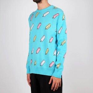 Sweatshirt Mora Ice Creams blue - DEDICATED