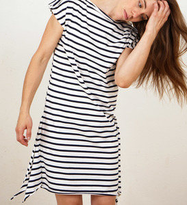 Striped Square Dress - Lena Schokolade