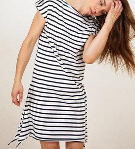 Striped Square Dress - Lena Schokolade