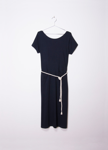 Maeve Dress - Navy - Suite 13