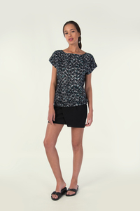 JORIE Shirt - Black - skunkfunk