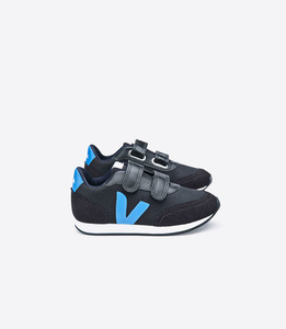 Sneaker Kinder - Arcade Kids B-Mesh - Black Swedish Blue  - Veja