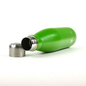 Kiwi grüne Edelstahl Trinkflasche 500ml - Made Sustained