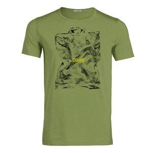 T-Shirt Adores Slub Politics Change - GreenBomb