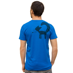 Franzi Fuchs T-Shirt für Herren in royal blue - Cmig