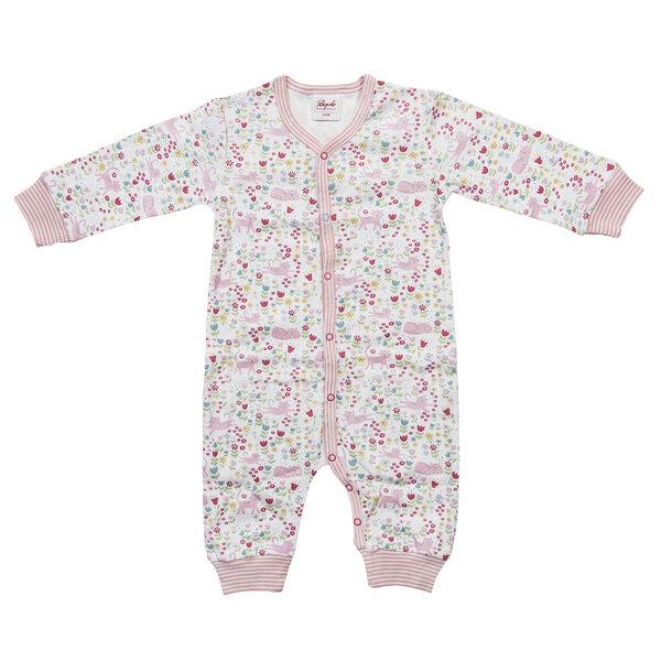people wear organic baby strampler wei rosa gemustert bio people wear organic avocadostore. Black Bedroom Furniture Sets. Home Design Ideas