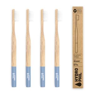 Bambus Zahnbürste Pack hellblau - HYDROPHIL