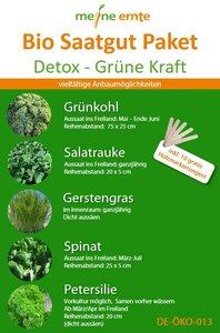Bio Saatgut Paket Detox - meine ernte