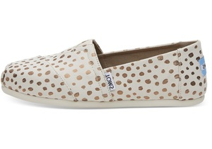 Rose Gold Dots Classics für Damen - Toms