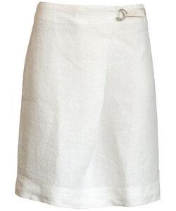 Linen Skirt floral white - Alma & Lovis